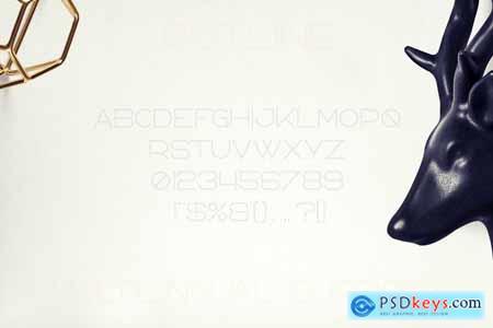Bosnia - Sans Serif font 2 styles