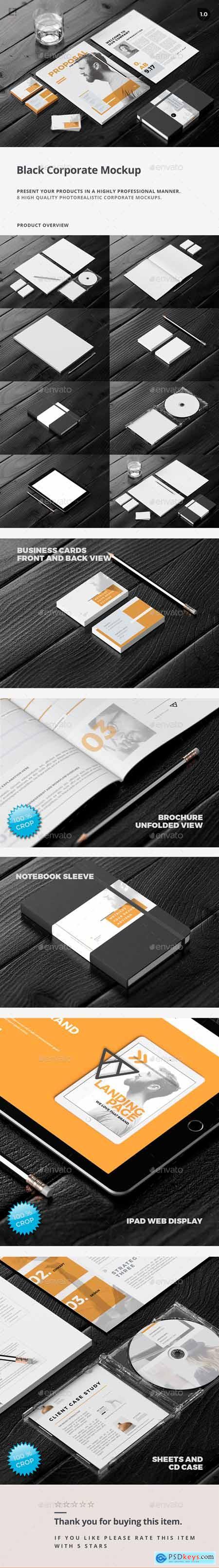Branding-Stationery Mockups Stationery