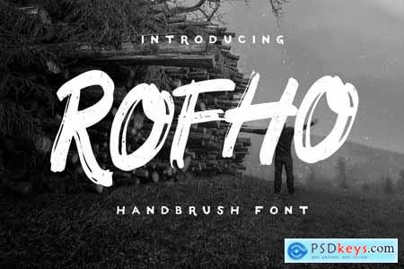 ROFHO Handbrush Fonts