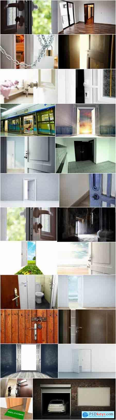 Open door the conceptual image handle frame 25 HQ Jpeg