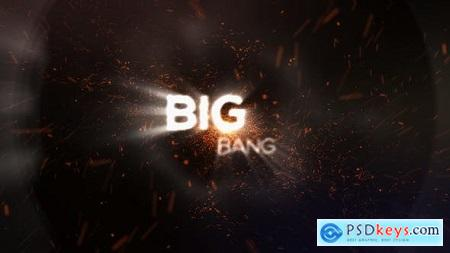 Videohive Big Bang Particle Logo Reveal Free