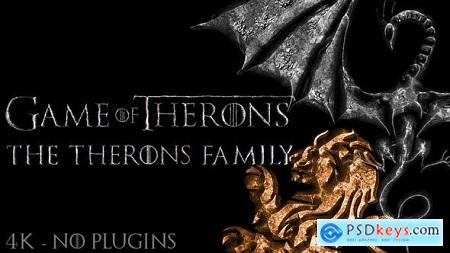 Videohive Game of Medieval Thrones Logo, Title Reveal Free