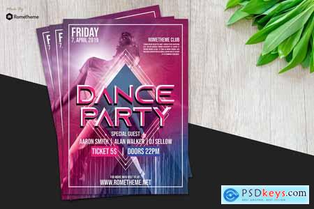 Dance & Event Flyer vol.01