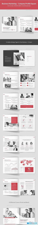 Graphicriver Business Marketing – Company Profile Square