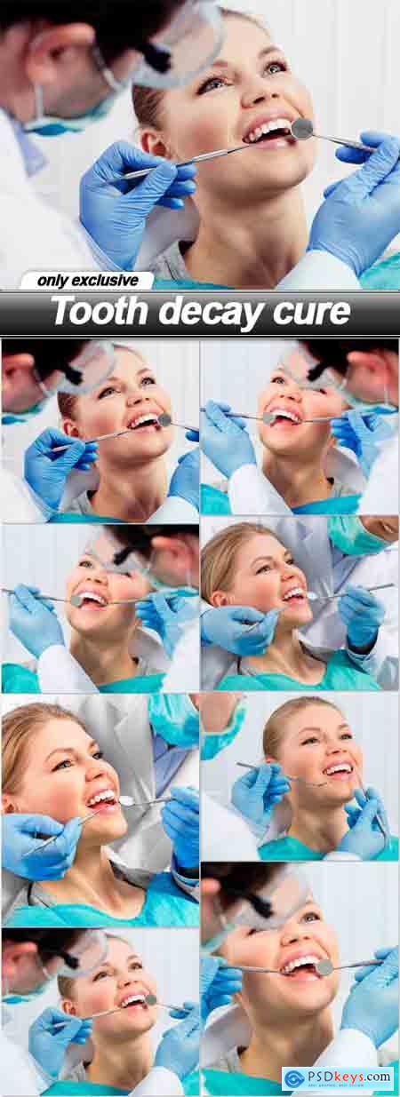 Tooth decay cure - 8 UHQ JPEG