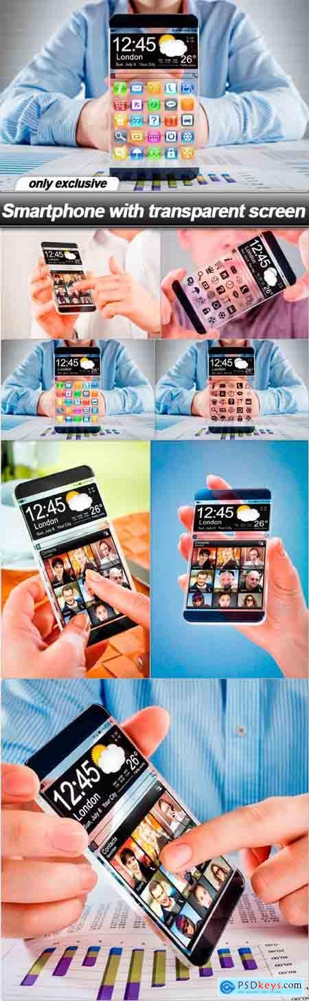 Smartphone with transparent screen - 7 UHQ JPEG