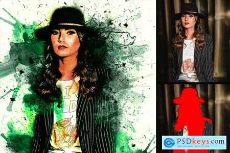 Ink Manipulation Photoshop Action 3
