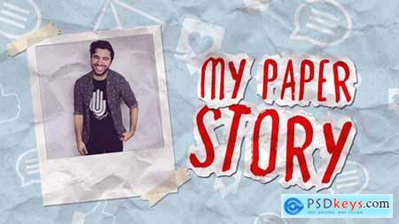 Videohive My Paper Story Free