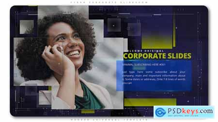 Videohive Clean Corporate Slideshow Free
