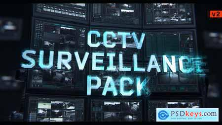 Videohive CCTV Surveillance Pack - V2 Free