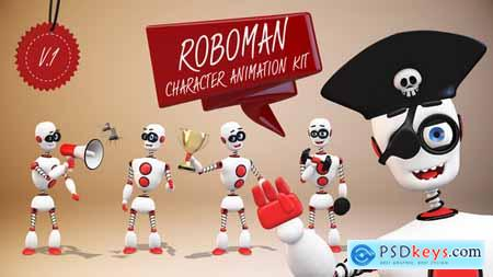 Videohive Roboman - Character Animation Kit Free