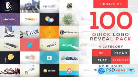 Videohive Quick Logo Reveal Pack V5 Free