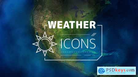 Videohive Weather Forecast Icons Free