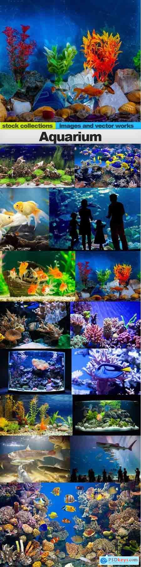 Aquarium, 15 x UHQ JPEG