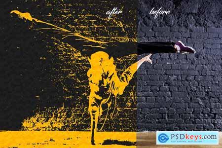 Textured Pop Art Ps Action
