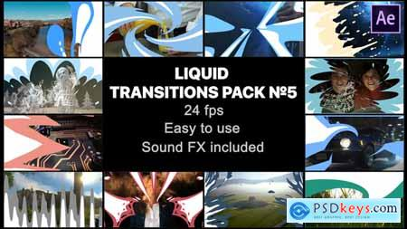 Videohive Liquid Transitions Pack 05 Free