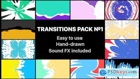Videohive Liquid Transitions Pack 01 Free