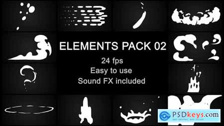 Videohive Flash FX Elements Pack 02 Free