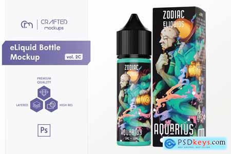 eLiquid Bottle Mockup v 2C