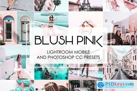 BLUSH PINK - Lightroom Presets