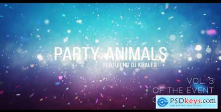 Videohive Project Party Animals 3 Free