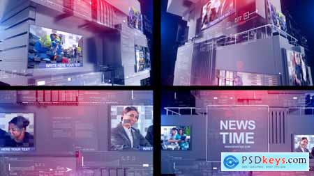 Videohive News Time Free
