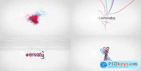 Videohive Kinetic Tricolor – A Quick Logo Reveals Package Free