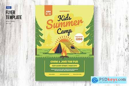 Kids Camp Flyer Template