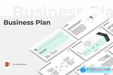 Business Plan PowerPoint and Keynote Presentation Template