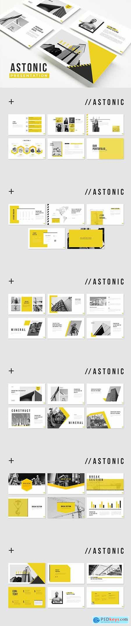 Astonic Powerpoint, Keynote, Google Slides Templates