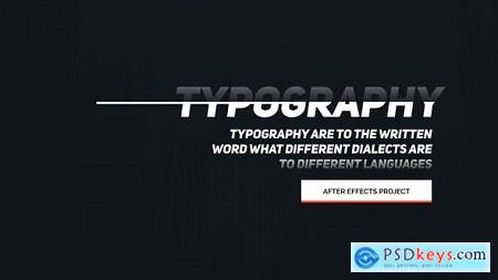 Videohive Animated Typography Free