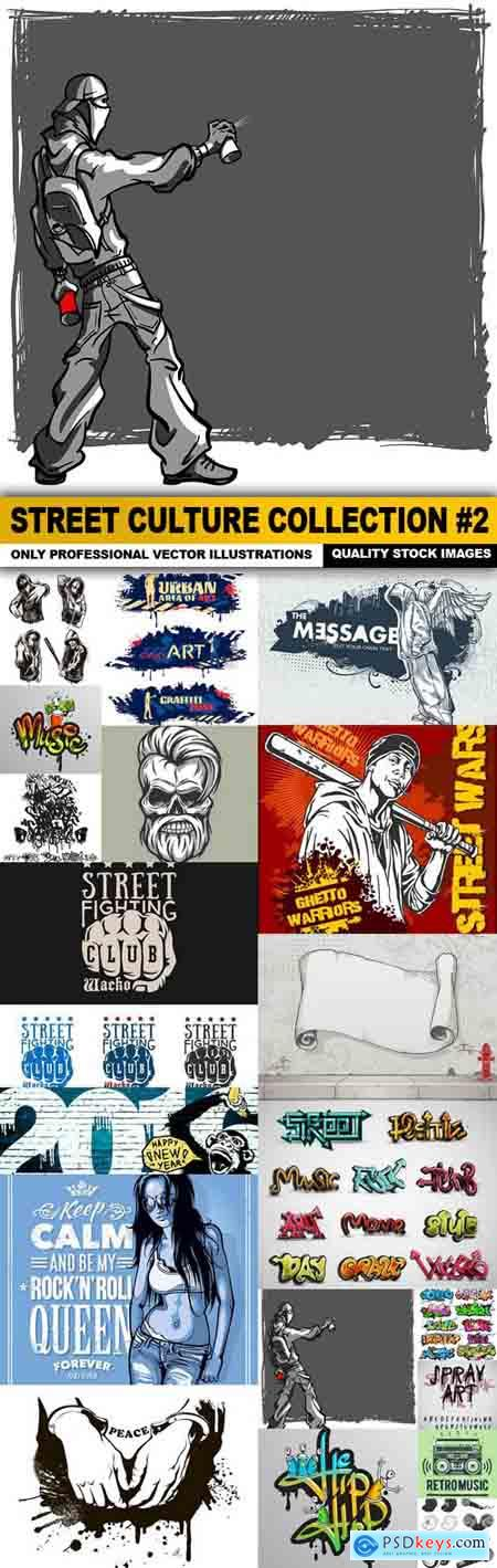 Street Culture Collection #2 - 20 Vector