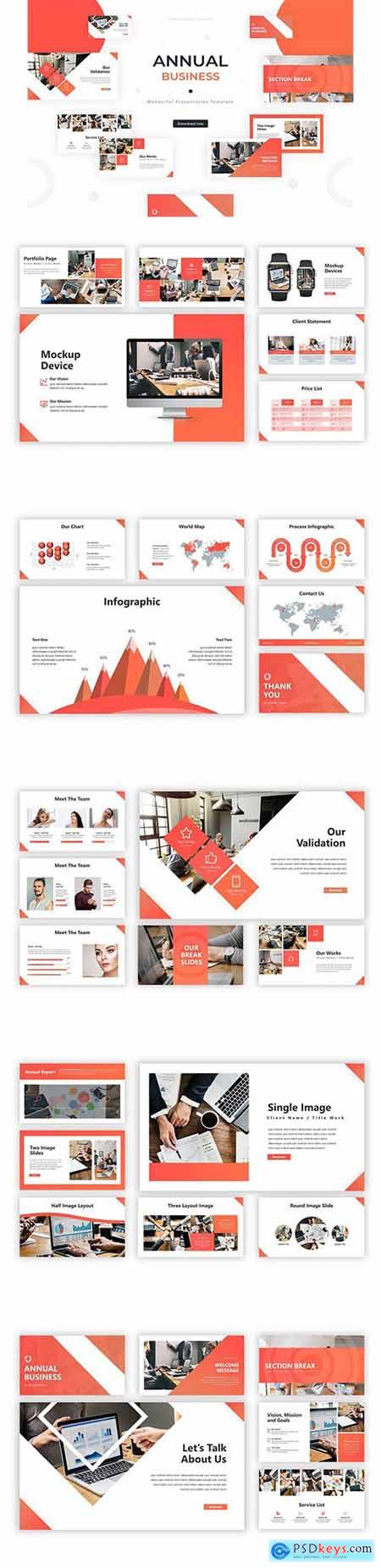 Annual Business - Powerpoint Template