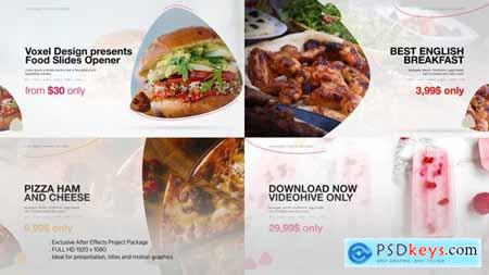 Videohive Food Product Opener Free