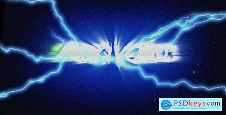 Videohive Glitch Lightning Reveal Free