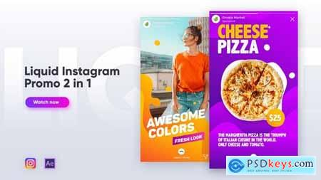 Videohive Liquid Instagram Promo 2 in 1 Free