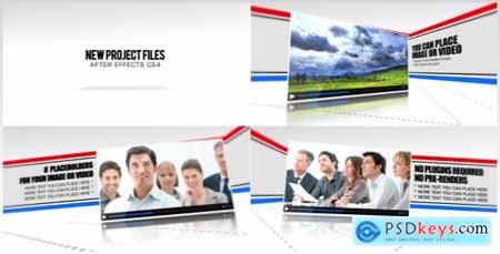 Videohive Line Corporate Presentation Free