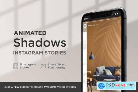Animated Shadows Instagram Stories