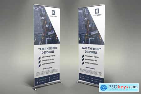 Corporate Roll Up Banners
