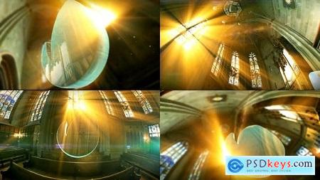 Videohive Holy Logo In Church Free