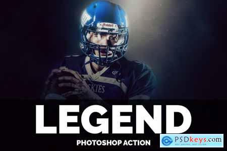 Legend Photoshop Action