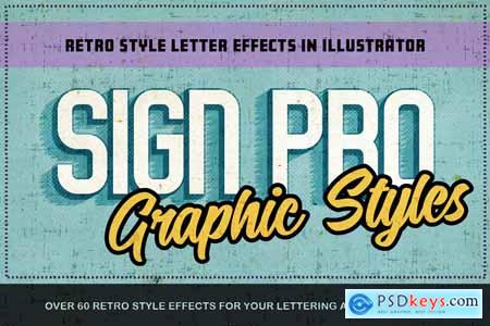 Sign Pro - Retro Vector Text Effects