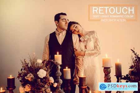 Retouch Soft Light Romantic Color