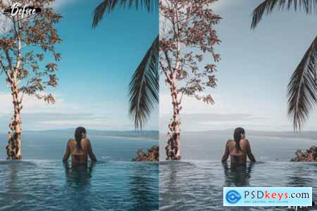 Neo Languid Blue Theme Desktop Lightroom Presets