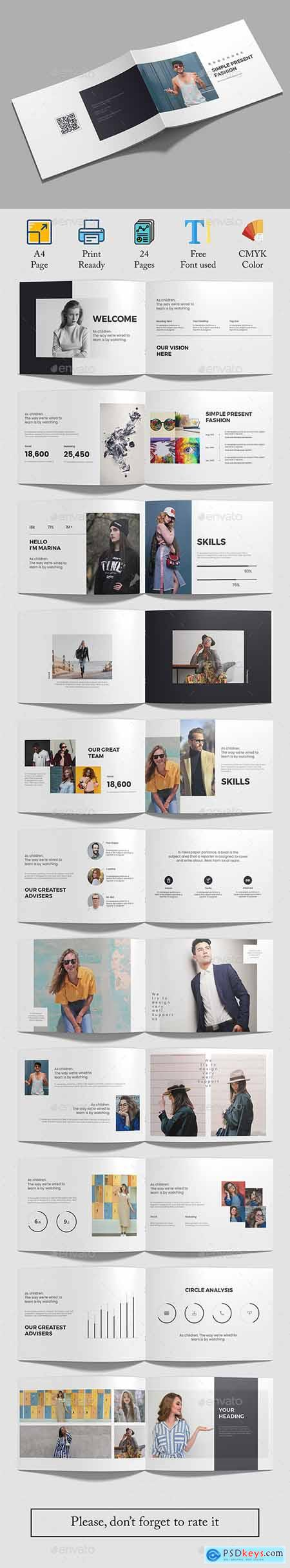 Fashion Brochure (a4 Landscape)