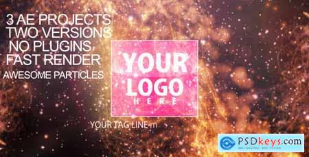 Videohive Particles-flare Logo Opener 2 Free
