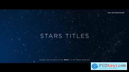 Videohive Stars Titles Free