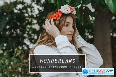 Desktop Lightroom Preset WONDERLAND