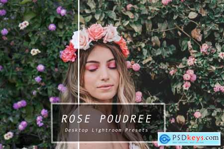 Desktop Lightroom Presets ROSE