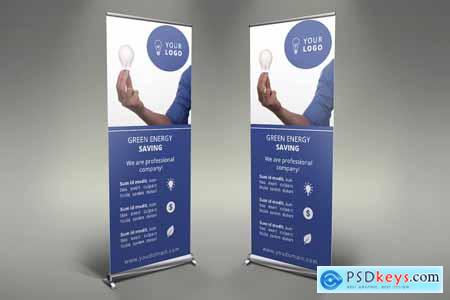 Save Energy - Roll Up Banners